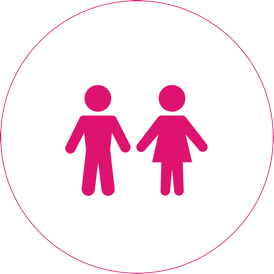 Conder Man and Woman Icon